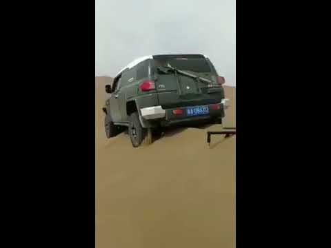 Wow!! Clever Way to Get Stuck Car Out of Sand