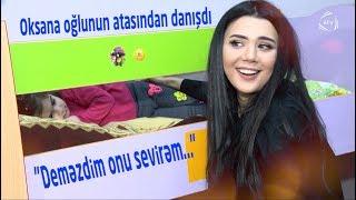 Oksana oğlunun atası, keçmiş sevgi, və gördüyü şiddətdən İlk Dəfə Danışdı ATV MAQAZİN Onlarla