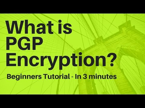 What is PGP/GPG Encryption? In 3 Minutes - PGP/GPG Tutorial for Beginners