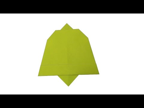 How to make: Origami Chirstmas Bell