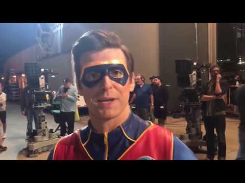 long day on Henry Danger set with cooper and sean | Jace Norman Vlog