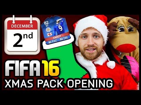 XMAS ADVENT CALENDAR PACK OPENING #2 - FIFA 16 ULTIMATE TEAM