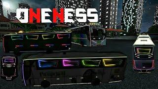 ONENESS Extra light settings on bus simulator Indonesia