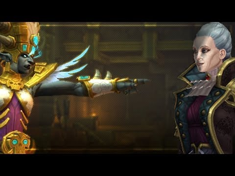 Kul Tiras & Zandalar Intro Cutscenes   Preview   Battle for Azeroth!
