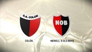 Fútbol en vivo. Colón vs. Newell