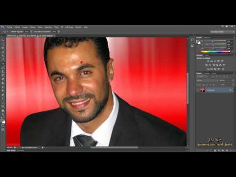 59 - إزالة اللون الأحمر من العين ( دورة فوتوشوب Photosop CS6 )