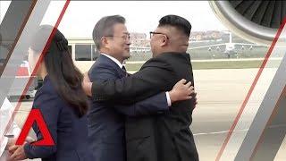 Kim Jong Un welcomes South Korea