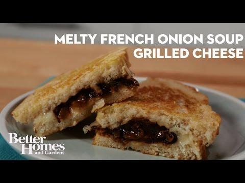 Melty French Onion Soup Grilled Cheese
