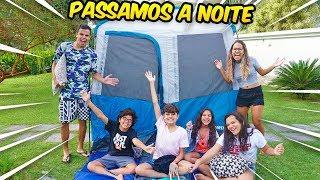 Download ACAMPAMOS FORA DE CASA COM AS CRIANÇAS! - *DEU RUIM* - KIDS FUN Video