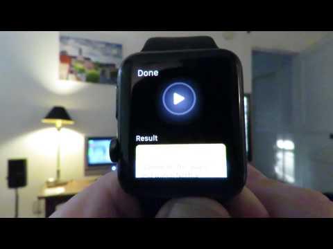 Apple watch: 1 button voice control of Directv, Apple TV, Hue Lights, Wemo
