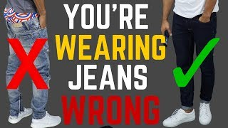 6 Ways Youre Wearing Your Jeans Wrong  Stop Wearing Your Jeans Like This