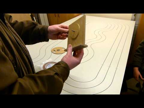 Make your own HO routed copper tape slot car track