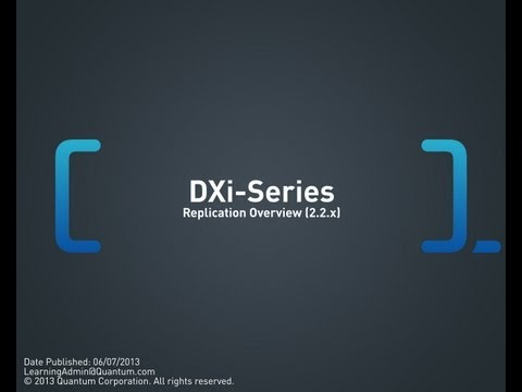 DXi-Series: Replication Overview