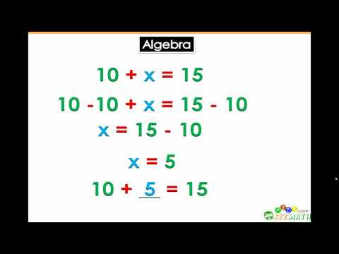 Algebra Basics for 5th & 6th Grade Math Learners
