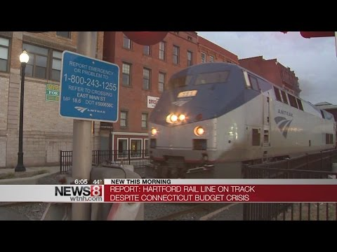 New commuter train between Hartford and New Haven on track