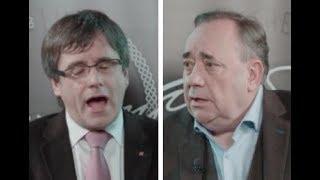 Increíble: el líder separatista escocés tumba a Puigdemont