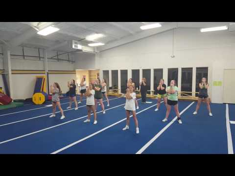 Home Cheer beginning to end no stunts