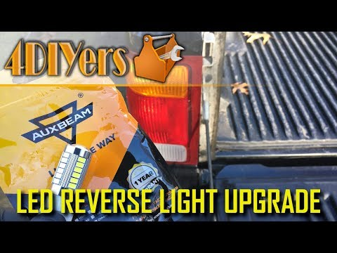 How to Upgrade Vehicle Reverse Lights to LEDs