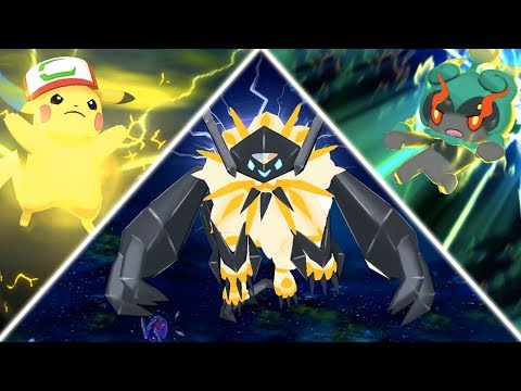 Pokemon Ultra Sun & Moon: All EXCLUSIVE Z-Moves! (1080P HD)