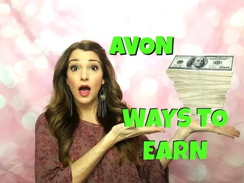 Avon Ways to Earn & How you get paid