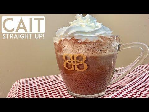 Homemade Hot Chocolate Recipe | Cait Straight Up