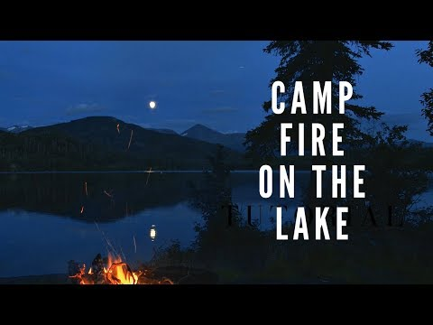 Campfire by the Lake - Sleep Ambience  2 hours