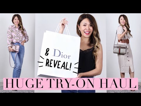 ASOS TRY ON HAUL & NEW DIOR REVEAL! ft. ShopBack