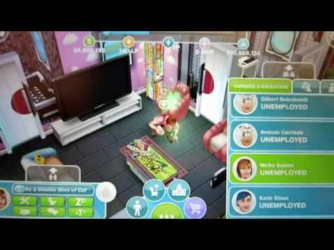 Sims FreePlay - Getting Around the Town Map [Gameplay Video]