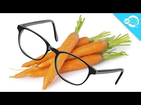 Do Carrots Really Give You Better Eyesight?
