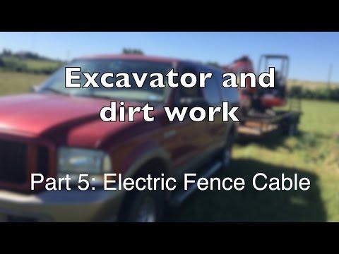 Mini Excavator Part 5: Bury the Cable