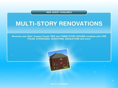 Sims Freeplay Multi Story Renovations