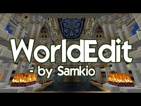 How to use and install WorldEdit