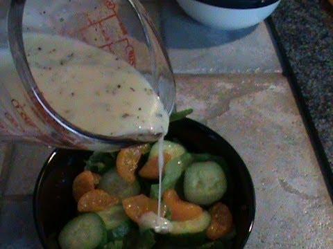 Creamy Italian Salad Dressing