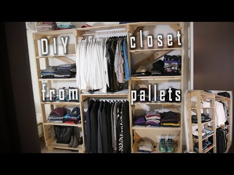 How to make a closet out of
