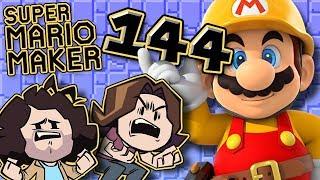 Super Mario Maker: 100% Of My Body - PART 144 - Game Grumps