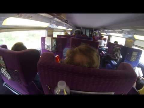 On Board The Cannes -Paris TGV Train, 15 Sep 2016  #3  ຂີ່ຣົຖໄຟດ່ວນຂື້ນກຣຸງປາຣີສ໌ຄືນ