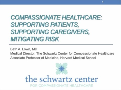 Compassionate Healthcare: Supporting Patients, Supporting Caregivers, Mitigating Risks