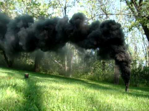 NON-TOXIC BLACK SMOKE FOR SPECIAL EFFECTS.
