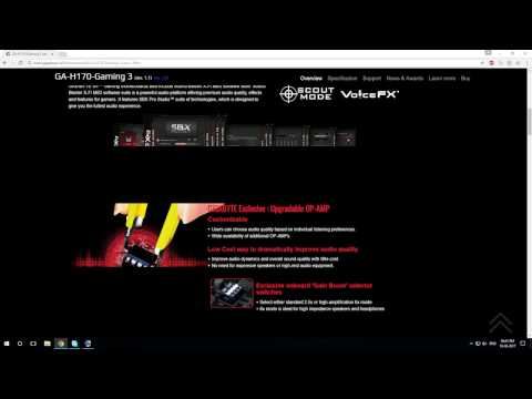 How to download Gigabyte Motherboard Drivers