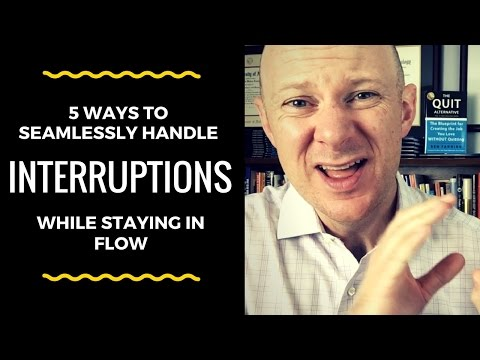 5 Ways to Seamlessly Handle Interruptions and Stay on Task