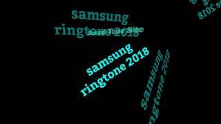 samsung ringtone 2018