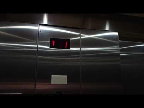 Schindler Hydraulic Elevator @ Westshore Plaza P-garage, Tampa, FL, USA.
