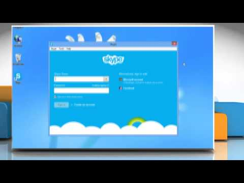 How to remove a contact from the Skype® contact list on Windows® 8 PC