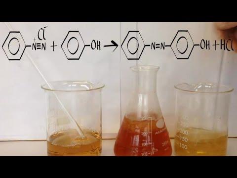 Aromatic 6. Preparation of benzene diazonium chloride.