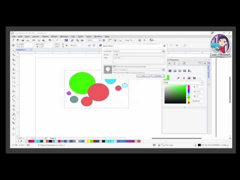 CorelDRAW X7 Lesson - Creating Patterns