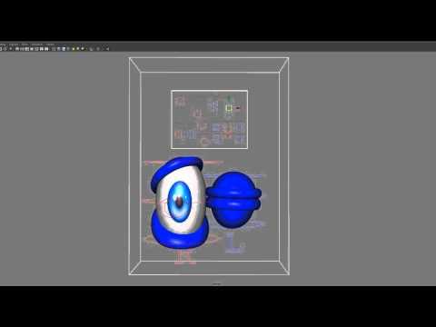 Maya Cartoon Eye Rig