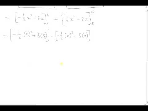 Solving an Absolute Value Integral