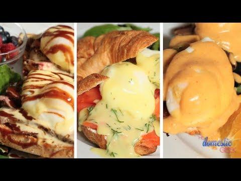 Eggs Benedict - 3 Delicious Ways