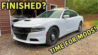 Rebuilding A Wrecked 2018 Dodge Charger Police Car Part 8