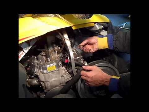 Ski-Doo MXZ 600 HO Adrenaline Carb Removal and Cleaning Part 1 of 2